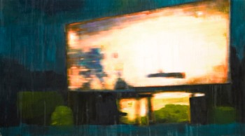 propiedad privada #15, 128x70cm, oil on canvas, 2008