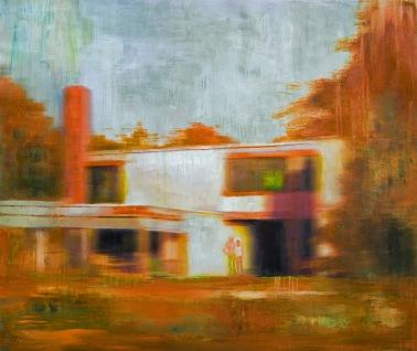 propiedad privada #18, 120x100cm, oil on canvas, 2008