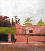propiedad privada #20, 120x100cm, oil on canvas, 2009