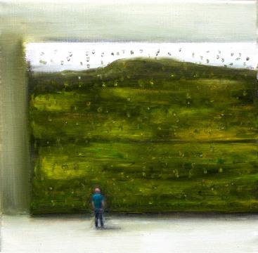 Federico, 30x30cm, oil on canvas