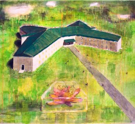 Ecuménica, 100x100cm, oil on canvas