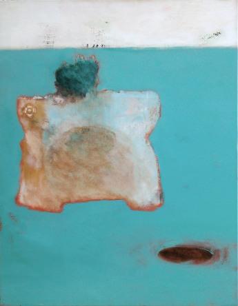 Amor fati 90x70 cm - oil and acryl. on canvas - 2003