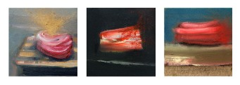 IInk jet 3x20x20 cm - oil on canvas - 2006