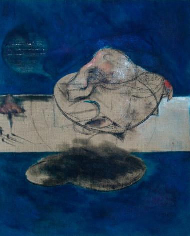 El orate 122x100 cm - oil on canvas on panel - 2003