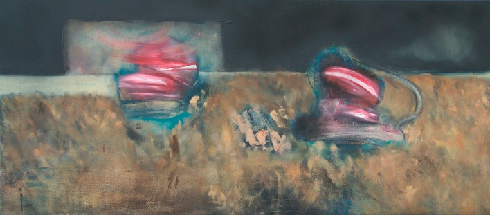 Artefacts pictauraux, 100x80 cm - oil on canvas - 2005