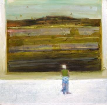 Judith, 40x40cm, oil on canvas