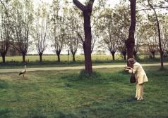 NATURA NATURATA, Laura et cicogne, lambda/diasec, 75x50cm