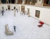 HOMO LUDENS, Musée des Beaux-Arts, Bruxelles. Lambda/Diasec, 64 x 50 cm