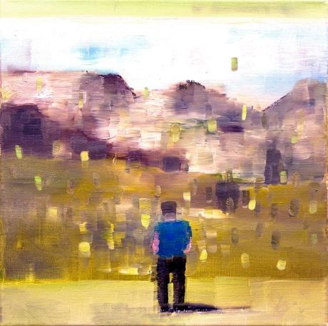 Rob, 30x30, oil on canvas
