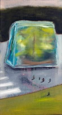 XXI nature morte, 30x15, oil on canvas