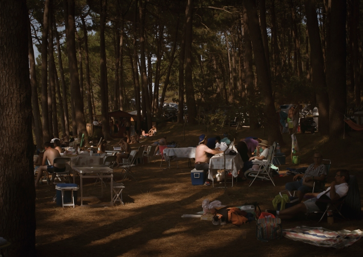 1 SERIE LANDSCHAP, KERMESSE, FOTOGRAFÍA SOBRE PANEL DE MADERA, 150X105CM, 2018