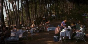 12 LANDSCHAP SERIES, TENIERS, PHOTOGRAPHY ON WOOD PANNEL, 40X20CM, 2016