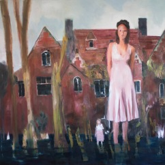 NO MATCHES FOUND#6, JINNY AND SUSAN, OIL ON CANVAS, 140X200CM, 2020