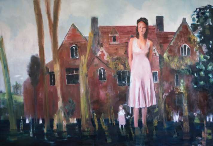 NO MATCHES FOUND#6, JINNY AND SUSAN, OIL ON CANVAS, 140X200CM, 2020.jpg